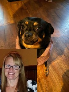 Sherrie and her dog